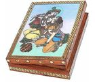 Real Gem Stone Jewellery Box-011(Multicolor)