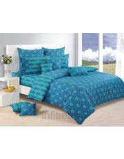 Colors of the sea Comforter n Bedsheet set