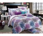 Story Finest King Size Double Bed Sheet FE1031, multicolor