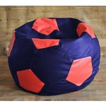 Style Homez Fancy Football Bean Bag Cover, xxl, multicolor