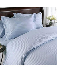 SWHF Cotton Saturn Stripe Bedsheet,  blue