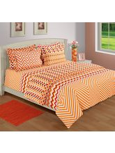 House This Aztec Finished Goods-Bed-Dohar, red