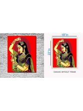 meSleep Canvas painting Rani - pc-01-0076, multicolor