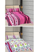 Freely Cotton Pure Cotton Combo Of 2 Double Bed Sh...