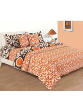 House This Standalone Classic Rust 1 Single Bed Sheet & 1 Pillow Cover, rust