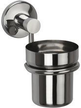 Jwell Stainless Steel Tooth Brush Holder - Sigma Series (Silver)