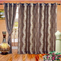 Cortina Techno 9Ft Curtain,  coffee