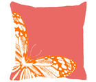 Leaf Designs Cushion Cover, orange