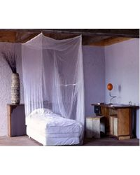 Mosquito nets for single bed 6 fit x 3 fit,  white