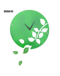 Zeeshaan Wall Clock, design3