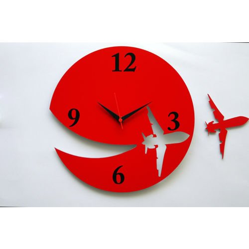 Home decor products fancy red wall clocks collection for Fancy home decor items