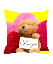 Me Sleep Red Valentine Cushion Cover, Red