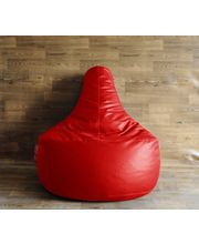 Style Homez XXL - Filled With Beans Gamer Chair Bean Bag, Red, Xxl