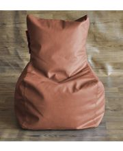 Style Homez Chair Bean Bag - Filled With Beans, Tan, L