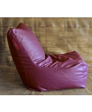 Style Homez Bean Bag Chair - Filled With Beans, Maroon, Xxxl