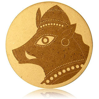 Engrave Varaha- The Boar Plaque (Multicolor)