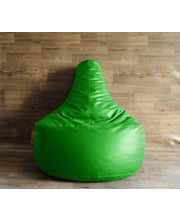 Style Homez Bean Bag Gamer Chair XXL - Filled With Beans, Green, Xxl