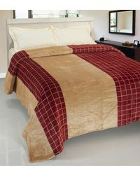 RosePetal AC Blanket For Double Bed, multicolor