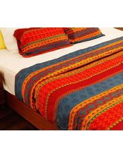 Celebrating India Bed Cover