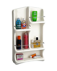 Cipla Plast Oasis Bath Shelf BRC-702-WH,  white