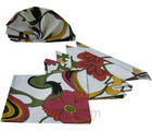 Floral Burst Napkin Set (Multicolor)