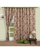 Sophisticated Paisley Curtains (Multicolor,Curtain(54 Inch X 60 Inch))