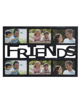 Black Beautiful Collage Photoframe For Friends, Bl...
