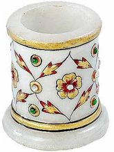 Marvel In Marble - Toothpick Holder-028(Multicolor)