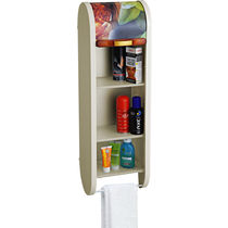 Cipla Plast Roll Top Bathroom Cabinet BRC-706-GIV, ivory
