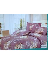 Blue Bell Double Bedsheet With Two Pillow Covers BEL-012, Multicolor