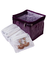 Fashionista Multisection Jewelry Box With 6 Pouchs...