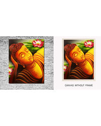 meSleep Canvas painting without frame -Lord Saint, multicolor