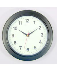 Stylecy Simple Descent Wall Clock For Home & Office Decor,  black