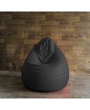 Fancy Chair Bean Bag - Filled With Beans, Grey, Xl