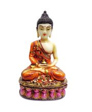 Lord Buddha In Meditation Position, Multicolor
