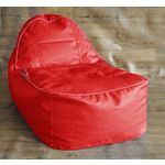 Style Homez Kids Video Rocker Filled Bean Bag, red