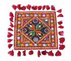 Kutch Cushion Cover - 4, multicolor