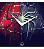 Spiderman Wall Clock, multicolor