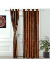 Story At Home 2 Pc Door Curtain-7 feet, design9