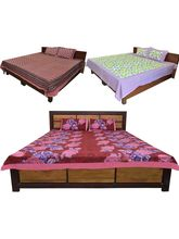 Little India Set Of 3 Double Bedsheet With Pillow ...