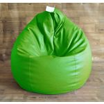 Style Homez Fancy Classic Filled Bean Bag, xxl, green