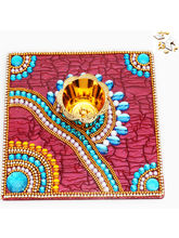 Traditional Light Diya Tray, Only Diya Tray