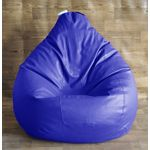 Classic Style Homez Bean Bag Cover, xxl, royal blue