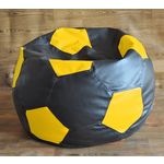 Style Homez Football Fancy Bean Bag Cover, xxl, multicolor