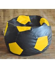 Fancy Style Homez Football XXL Bean Bag - Filled With Beans, Multicolor, Xxl