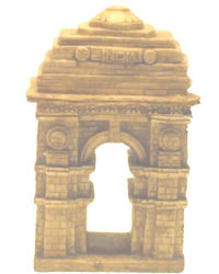 India Gate, brown