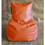 Style Homez Chair Filled Bean Bag, l, orange