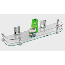 Cipla Plast Bathroom Glass Shelf (20â €  x5.5â €  ) BRC-735-A, multicolor