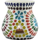 Brahmz Aroma Oil Burner Regular Mossiac, multicolor