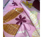 Story At Home Pure Cotton Double Bedsheet With 2 Pillow Cover, pink